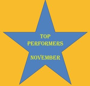 November 2011 Top Performers