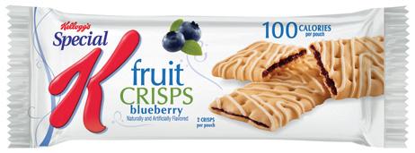 Kellogg's Blueberry Fruit Crisps