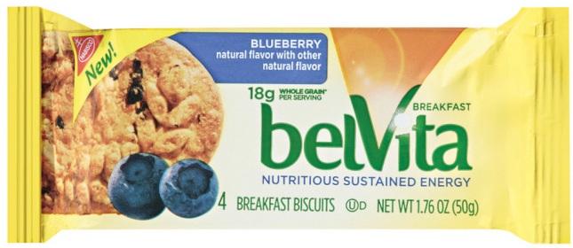 Kraft Foods Belvita Blueberry Breakfast Biscuit