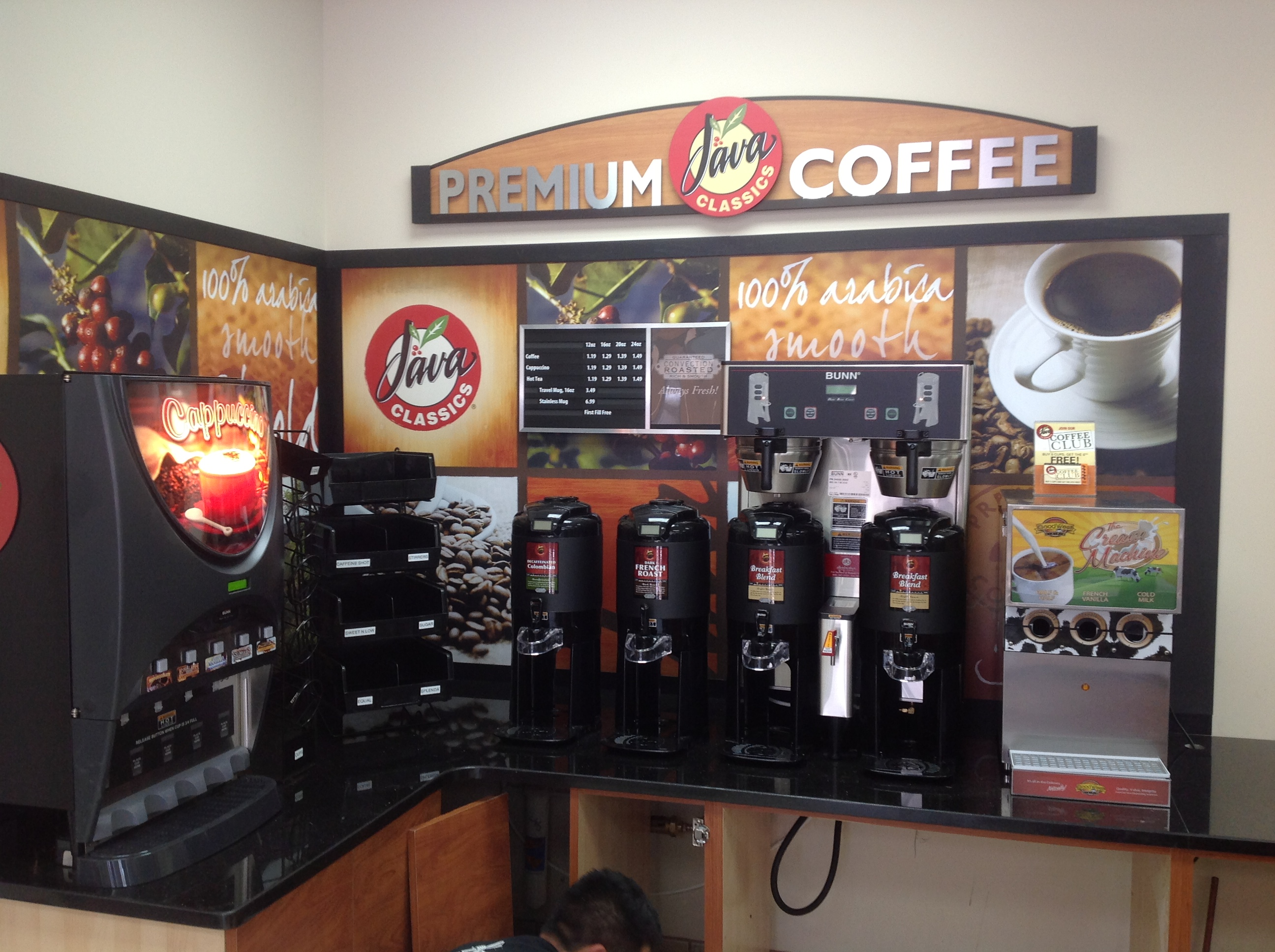 Convenience store allen brothers wholesale distribution for How to set up a coffee station